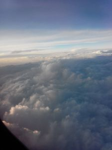 Aerial Sea 10:: With Mountains and Plains I had Volcanos and Pits on Cloudy Land...