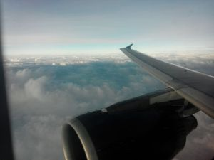 Aerial Sea 04:: Cloudy Sea from Top of the Plane